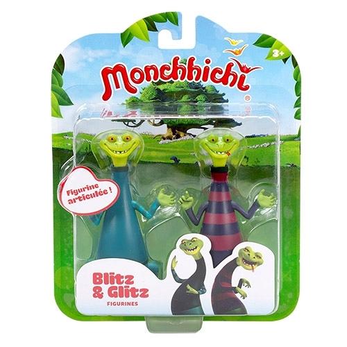 《 Monchhichi 夢奇奇 》人偶公仔 - Blitz&Glitz╭★ JOYBUS玩具百貨