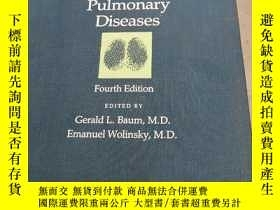 二手書博民逛書店Textbook罕見of Pulmonary DiseasesY182287 不知道 不知道