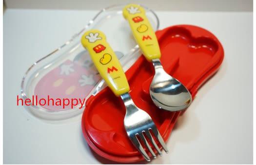 *妮好快樂*韓國直送_米奇湯匙叉子組盒裝