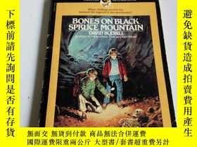 二手書博民逛書店BONES罕見ON BLACK SPRUCE MOUNTAIN(