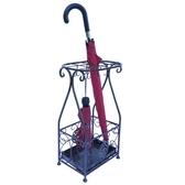 鐵藝雨傘收納架落地家用簡約創意整體放折疊雨傘架傘桶置物架子
