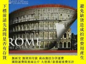 二手書博民逛書店羅馬城的歷史和現在:歷史遺跡與復原罕見Rome:Past & Present Guide with Reconst