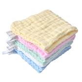 毛巾寶寶口水巾洗臉巾兒童小方巾新生兒用品夏季薄款【全館免運】