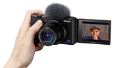 【震博】Sony ZV-1 側翻螢幕4K高畫質相機 (台灣索尼公司貨;可翻轉式LCD)