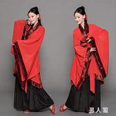 漢服古裝元素改良中國風廣袖襦裙演出服學生復古成人禮 FR1110『男人範』