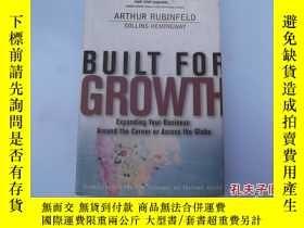 二手書博民逛書店BUILT罕見FOR GROWTHY207801 RUBINFE