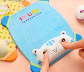 硅膠創意女生可愛防滑鼠標墊護腕卡通膠墊手托手腕墊家用