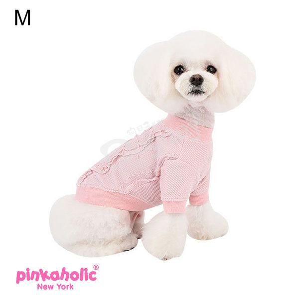 紐約《Pinkaholic》小甜心T恤 L號 小狗衣服 小型犬衣服  春裝 薄衣 馬爾濟斯/貴賓