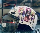 卡通安全帽,CA110,航海王#2/白,附抗UV-PC安全鏡片
