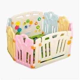 麻麻乖寶貝安全圍欄 遊戲圍欄 嬰兒護欄 寶寶柵欄 護欄 經典圍欄6小+2