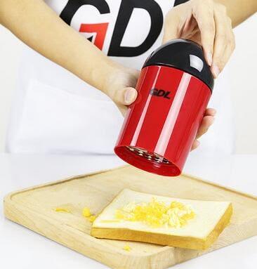 多功能手動家用研磨器調料瓶芝士刨奶酪中藥磨粉機器