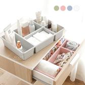 簡約抽屜桌面雜物整理盒 收納盒 置物盒