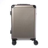 HOLA 萊森鋁框行李箱20吋 香檳色