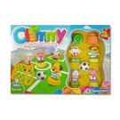 【奇買親子購物網】Clemmy 軟式積木-足球比賽