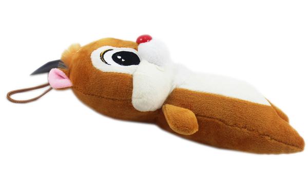 【卡漫城】 單隻 奇奇 玩偶 約25cm ㊣版 Chip n Dale 娃娃 絨毛 布偶 松鼠 花栗鼠 吊飾 奇奇蒂蒂