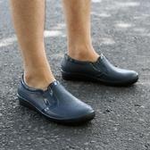 雨鞋 低筒男士英倫雨鞋輕便時尚塑膠水鞋防水防滑雨鞋春秋短筒低幫男鞋