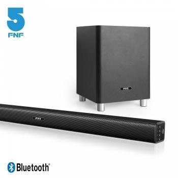 免運費 5FNF 五元素 3D環繞重低音家庭劇院組(聲霸+6.5吋重低音喇叭) if-SB360