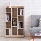 木質 九格櫃 置物櫃 書櫃 收納櫃 置物架 屏風 組合櫃【N0114】萊斯十一格櫃-淺橡木色 完美主義 AC
