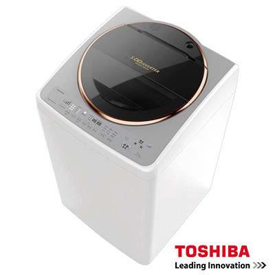 TOSHIBA東芝 SDD變頻15公斤洗衣機 金鑽銀 AW-DME15WAG /潔淨力大提升