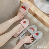 月子鞋夏季薄款包跟孕婦拖鞋軟底透氣室內厚底防滑產婦鞋 IP173『寶貝兒童裝』