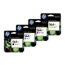 【四色一組】HP NO.564XL 564XL 原廠墨水匣 適用3070A 4620 5520等