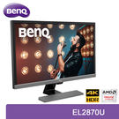 【免運費】BenQ 明基 EL2870U 28型 4k HDR 舒視屏護眼顯示器 / TN面板 / FreeSync / 低藍光不閃屏