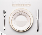 西餐盤 歐式陶瓷平盤碟子西餐牛排餐盤家用北歐盤子刀叉餐具【快速出貨八折下殺】