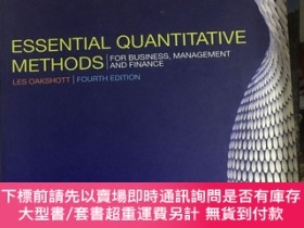 二手書博民逛書店Essential罕見Quantitative Methods : For Business, Managemen