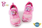 POLI 安寶 運動鞋 女童 MIT 電燈鞋 慢跑鞋 K7472#粉紅◆OSOME奧森鞋業