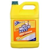 威猛先生愛地潔地板清潔劑-檸檬1加侖【愛買】