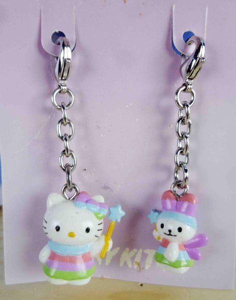 【震撼精品百貨】Hello Kitty 凱蒂貓~KITTY吊飾拉扣-星星仙子