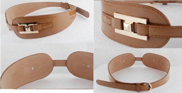 來福腰封,H390腰封漆皮百搭後扣造型腰封腰帶皮帶寬腰帶,售價250元