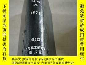 二手書博民逛書店MECHANICAL罕見ENGINEERING.Vol.93.1