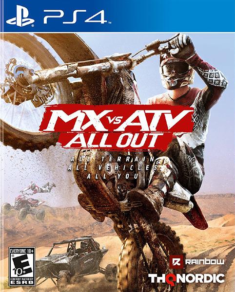 PS4 飆風越野 All Out(美版代購)