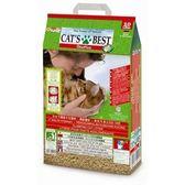 【寵物王國】德國凱優CATS BEST-紅標環保凝結木屑砂20L★免運費