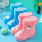 兒童雨靴輕便防水防滑水鞋男童女童軟底卡通水靴寶寶雨鞋