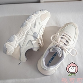 老爹鞋子女夏季百搭透氣薄款女鞋小白運動鞋【桃可可服饰】