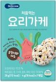 韓國 智慧媽媽 BEBECOOK 初食拌飯香鬆-海苔魷魚28g(12個月以上)