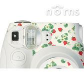 Norns MINI7S 專用FUJIFILM日本富士原廠拍立得相機機身貼紙【野草莓款】Norns