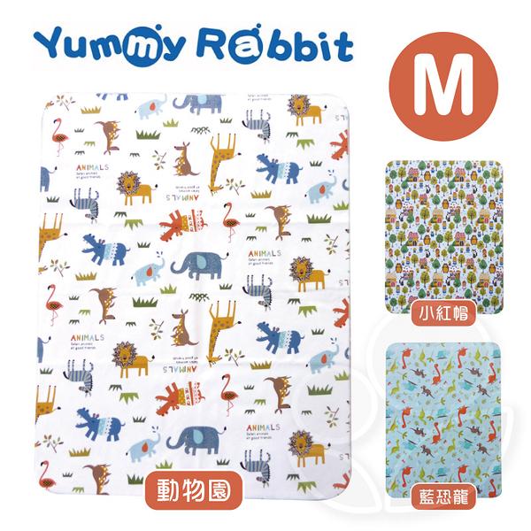 Yummy Rabbit 亞米兔 超柔軟五層透氣防水墊(M)【佳兒園婦幼館】