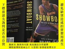 二手書博民逛書店Showboat:The罕見Life of Kobe Bryant 英文原版 精裝 科比傳記Y343790 R