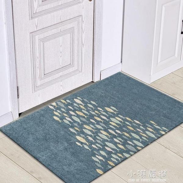 簡約現代北歐吸水防滑墊地墊地毯入戶進門玄關腳墊臥室門墊地板墊CY『小淇嚴選』