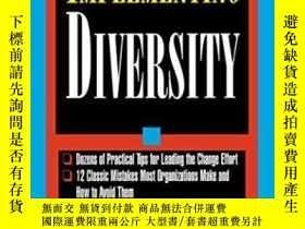 二手書博民逛書店Implementing罕見DiversityY256260 Loden, Marilyn Mcgraw-hi