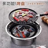 不銹鋼韓式無煙烤肉爐 商用木炭燒烤架家用戶外野營聚餐便捷烤爐 ATF 艾瑞斯