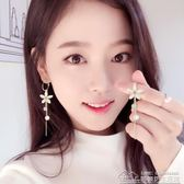 耳環女氣質韓國個性百搭長款耳夾無耳洞吊墜一款兩戴耳墜 居樂坊生活館