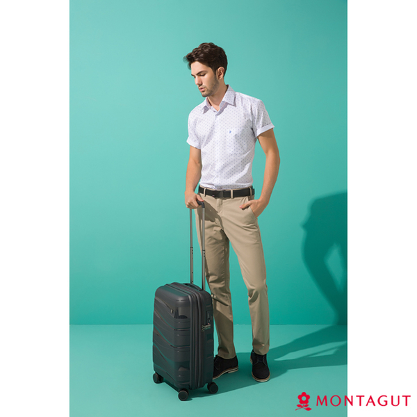 行李箱登機箱硬殼旅行箱 夢特嬌 19吋復古系列硬殼行李箱