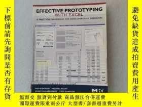 二手書博民逛書店Effective罕見Prototyping with Excel:A practical handbook fo