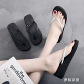 人字拖女 2019新款時尚外穿涼鞋防滑沙灘百搭鞋 QW1506『夢幻家居』