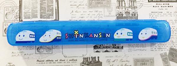 【震撼精品百貨】Shin Kan Sen 新幹線~三麗鷗新幹線日本筷子收納盒-藍#03298