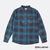BILLABONG RIOT FLANNEL LS S 長袖襯衫-藍黑 【GO WILD】